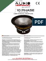 Bda Hx 10 Phase Komplett