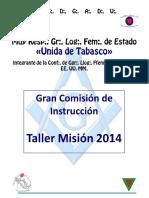 Manual Misión 2014