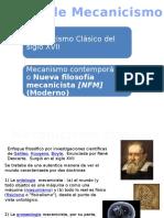 Diapositivas Tipos de Mecanicismo