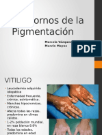 Trastornos de Pigmentacion