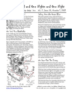 Issue #50, One Thousand and One Nights and One Night RPG Campaign Design 'zine