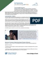 Brochure-electrical Computer Engineering Degree Summary