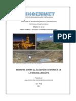 2011 GE33 Memoria Geologia Economica Arequipa