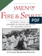 Hoehler-Fatton Women Fire Spirit