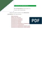 Diccionario de Matemáticas