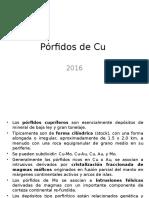 Pórfidos de Cu - 20.05.16