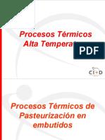 Procesos Térmicos - Modulo 2 Alta Temperatura-Formación AC Panamá