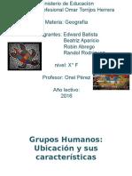 grupos humanos de Panamá