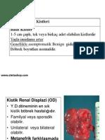 ÜRİNER SİSTEM (Patoloji - Davut Sahin)