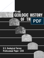 Geologic History of the Moon