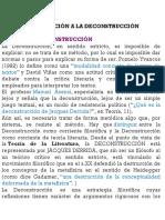 Conceptualizacion de La Desconstruccion.
