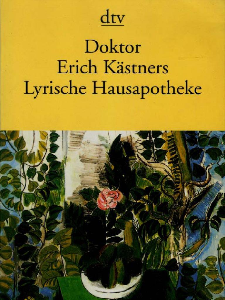 1936 Erich Kästner Doktor Erich Kästners Lyrische