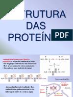 Aula 3 Estrutura Das Proteinas Ppt