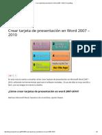 Crear tarjeta de presentación en Word 2007 – 2010 _ CompuBlog.pdf