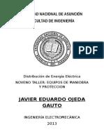 Tp Distribucion Protecciones