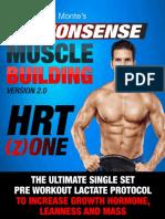 Vince Delmonte - Non Nonsense Muscle Building HRT-1 Protocol