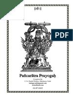Pancharatra Prayoga