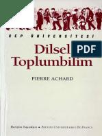Pierre Achard - Dilsel Toplumbilim