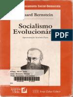 Bernstein Socialismo Evolucionário