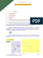 10. Ecuaciones Parametricas