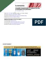 Broadband Complex Permeability Characterization of Magnetic Thin Films Liu2005