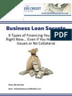 Business Loan Secrets