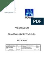 Proc Desarrollo de Extensiones