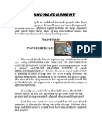 internet banking project documentation