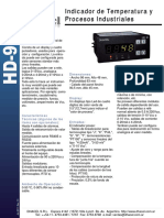 Folleto HD 91