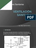 Ventilación sanitaria