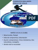 Ministerio Evangelistico Iglecrecimiento Modelo de Jesus