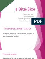 Postres Bite Size