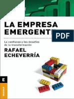 Rafael Echeverría La Empresa Emergente-Rafael Echeverría