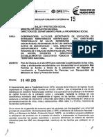 Circualra Conjunta MEN - DPS - MSPS