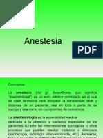 Curso Introductorio de Anestesia