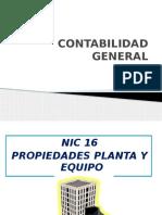 Presentación NIC 16