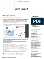 Reports in Power BI – Microsoft Power BI