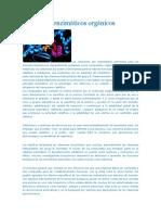 Cofactores enzimáticos orgánicos