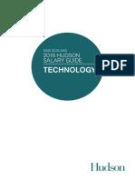 Technology 2016 Salary Guide (NZ)