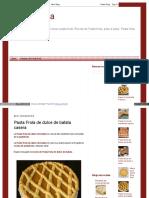 Hacerpastafrola Blogspot Com Ar 2014 07 Pasta Frola de Dulce