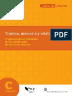 +L. Trauma, memoria y relato featherston, Iribe, Mainero