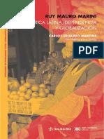America Latina, Dependencia y Globalización. Ruy Mauro Marini