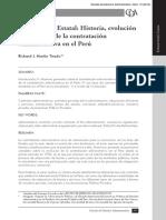 El laberinto estatal; historia, evolución y conceptos de la contratación administrativa en el Perú - Richard Martin Tirado.pdf