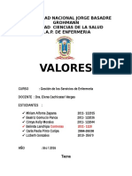 Valores de La Organizacion Ultimo Final (1)