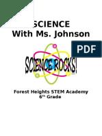 science syllabus 2015-2016