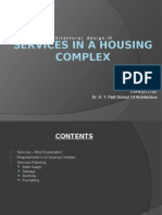 Services in a Housing Complex