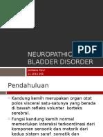 Neuropathic Bladder disorder.pptx