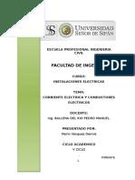 Corriente Electrica y Conductores Electricos - Marin Vasquez Dennis