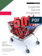 customer service programme