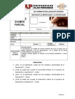 Examen Parcial - 2016